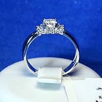 Помолвочное кольцо из серебра 1982р