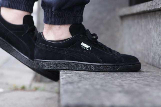 0e916be877891a Мужские кроссовки Puma Suede Black черные топ реплика: продажа, цена ...
