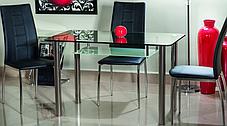 Стол стеклянный обеденный Hektor (Signal ТМ), фото 3