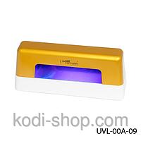 Ультрафиолетовая лампа для сушки гель - лака,  9 Вт, Lady Victory UVL-00A-09 (1лампочка 9 Вт) (желтая)