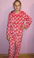 Пижама махровая подросток для девочек, фото 1