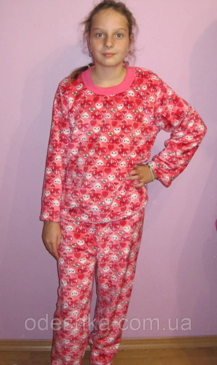 bacb67147b24 Пижама махровая подросток для девочек -