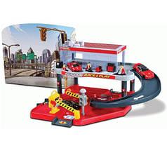 Игровой набор Bburago Гараж Ferrari (2 уровня, 1 машинка 1:43) 18-31231