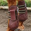 Ногавки кожаные, конкурные, передние
