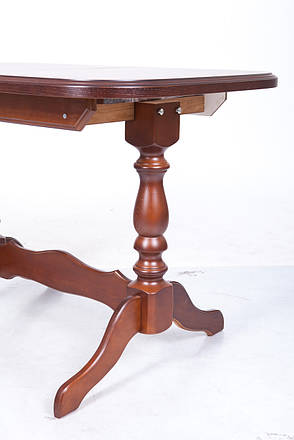 Стол обеденный   раскладной  Аврора  Fusion Furniture, цвет орех светлый, фото 2