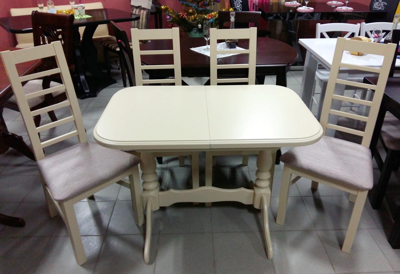 Стол обеденный   раскладной  Аврора   Fn, беж