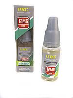 Жидкость для электронных сигарет UKC mentol 12 Mg