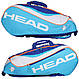 Яркая подростковая сумка-чехол для большого тенниса на 6 ракеток  283675 Junior Combi  LB HEAD , фото 2