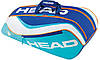 Яркая подростковая сумка-чехол для большого тенниса на 6 ракеток  283675 Junior Combi  LB HEAD
