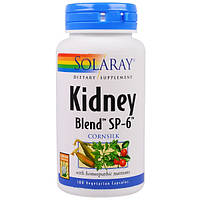 Kidney Blend 100 капс лечение воспаления почек и мочевого пузыря мочегонное Solaray USA