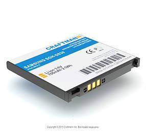 Акумулятор Craftmann AB394235CE для Samsung SGH-D830 (ємність 700mAh)