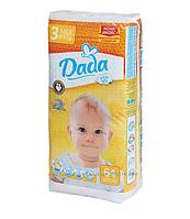 Новинка! Подгузники Dada Comfort Fit  Extra Soft 3(4-9 кг)-64 шт
