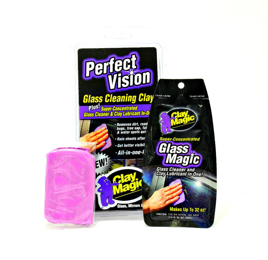 Набір для очищення стекол Perfect Vision Glass Cleaning Clay