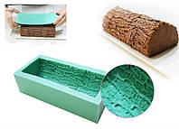 Форма для муссовых тортов  силикон Рождественское полено, фото 1