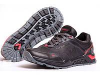 Мужские кожаные кроссовки Merell M black