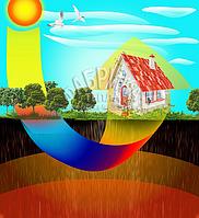 Монтаж теплового насоса