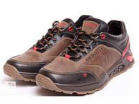 Мужские кожаные кроссовки Merell M olive