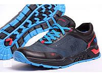 Мужские кожаные кроссовки Merell M blue, фото 1