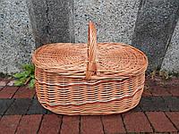 Плетеная корзина для пикника