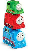 Fisher-Price Томас и его друзья Складывающиеся блоки-паровозики My First Thomas The Train, Stacking Steamies, фото 1