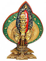 Статуэтка с позолотой Непал Авалокитешвара