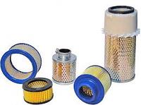 Фильтры воздушные, масляные, сепараторы Sotras, Mann для винтовых воздушных компрессоров