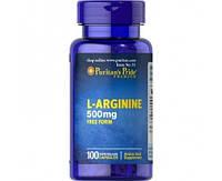 Puritan's Pride L-Arginine 500 mg 100 caps