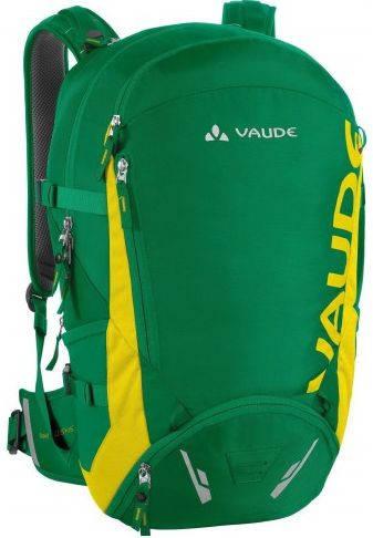 Стильный велорюкзак 25+5 Vaude Gravit 4021573986252 Зеленый