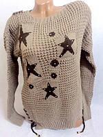 Кофточка-туника с звездой