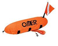 Буй для подводной охоты Omer Master Torpedo в чехле