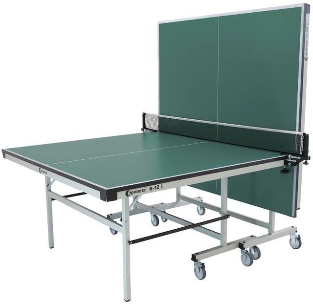 Стол теннисный S 6-12i (цвет зеленый) для одного игрока