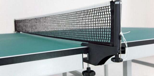 Стол теннисный S 6-12i (цвет зеленый) сетка