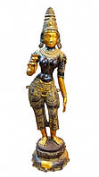 Статуэтка бронзовая Лакшми с Лотосом