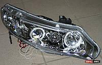 Honda Civic USA оптика передняя хром
