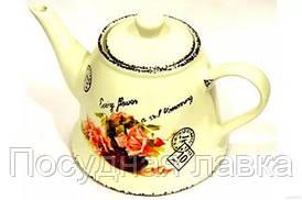 Чайник заварочный Maestro MR 20050 08 Открытка роза