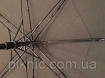 Зонт мужской семейный трость с клапаном. Зонт с большим куполом 134 см от дождя Антиветер, фото 3