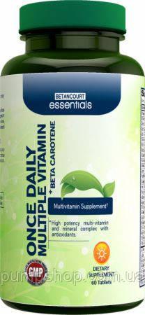 Витамины Betancourt Nutrition Once Daily Multiple Vitamin 60 таб ( США ) уценка