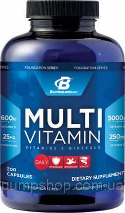 Витамины Foundation Series Multivitamin -200 капсул ( США ), фото 2