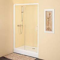 Двухсекционная душевая дверь Kolpa-San Q line TV2D/S 120 см чинчилла 537267