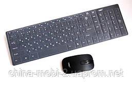 Тонкая беспроводная клавиатура для ПК UKC k06 + мышь + чехол - 2.4 G , фото 2