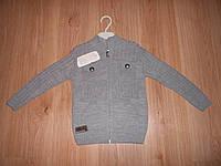 Вязанная кофта на мальчика примерно на 4-5 лет