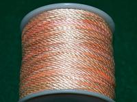 Капроновый шнур 3 мм персиковый  20154