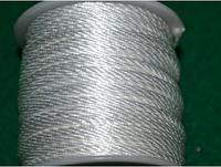 Капроновый шнур 3 мм белый  20155