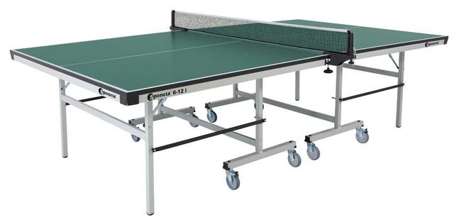 Стол теннисный S 6-12i (цвет зеленый)