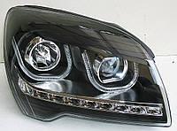 Kia Sportage JE оптика передняя ксенон с дневными ходовыми огнями DRL