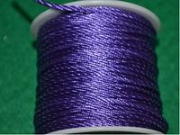 Капроновый шнур 3 мм фиолетовый  20157