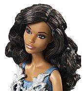 "Лялька Барбі Новорічна 2016 ""Афроамериканка"" / Barbie Holiday African American Doll, фото 4"