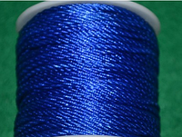 Капроновый шнур 3 мм синий  20158