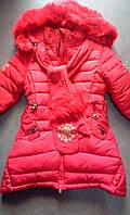 Детская куртка девочка зима 2016