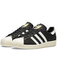 Оригинальные  кроссовки Adidas  Superstar 80s Snake W Black & Off White
